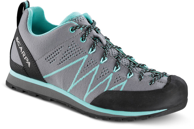Scarpa Crux Air Scarpe Donna, smokeice green